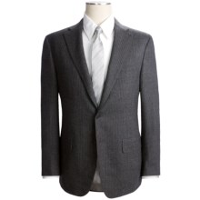 Isaia Faint Pinstripe Suit - Wool-Cashmere (For Men) in Charcoal - Closeouts