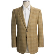 Isaia Glen Plaid Sport Coat - Wool (For Men) in Mustard - Closeouts