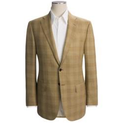 Isaia Glen Plaid Sport Coat - Wool (For Men) in Mustard