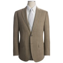 Isaia Glen Plaid Suit (For Men) in Brown/Blue - Closeouts