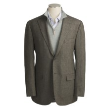 Isaia Herringbone Sport Coat - Wool (For Men) in Light Brown - Closeouts