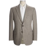 Isaia Houndstooth Sport Coat - Wool-Angora-Cashgora (For Men)