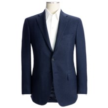 Isaia Houndstooth Sport Coat - Wool-Cashmere (For Men) in Blue/Black - Closeouts
