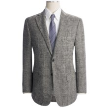 Isaia Houndstooth Suit - Wool (For Men) in Black/White - Closeouts