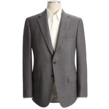 Isaia Large Nailhead Sport Coat - Wool-Cotton-Cashmere (For Men) in Grey - Closeouts