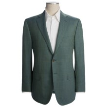 Isaia Multi-Check Sport Coat - Wool (For Men) in Mint/Green/Blue - Closeouts