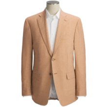 Isaia Seersucker Sport Coat - Wool-Silk (For Men) in Rust Check - Closeouts