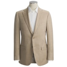 Isaia Small Herringbone Sport Coat - Wool-Silk (For Men) in Tan - Closeouts