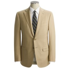 Isaia Solid Wool Suit (For Men) in Wheat - Closeouts