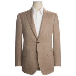 Isaia Tic Weave Sport Coat - Silk-Linen (For Men) in Brown