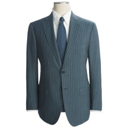 Isaia Wool-Mohair Suit (For Men) in Beige