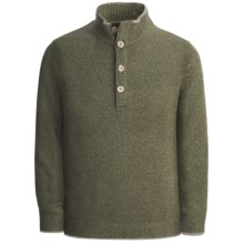 Isaiah Ciarrai Merino-Cashmere Sweater (For Men) in Green - Closeouts