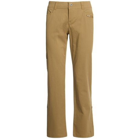 Isis Day Tripper Roll-Up Pants (For Women) in Canvas