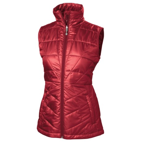 Isis Lithe PrimaLoft® Vest - Insulated (For Women) in Chianti