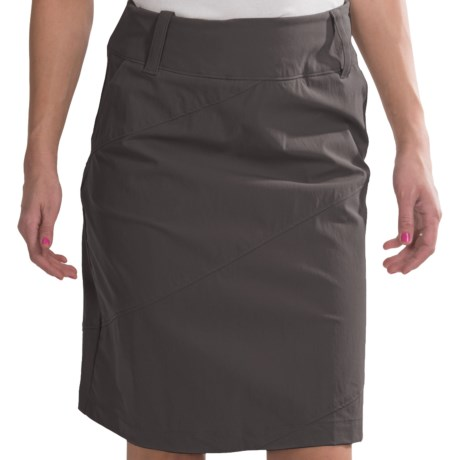 Isis Portofino Skirt - UPF 50+ (For Women) in Carbon