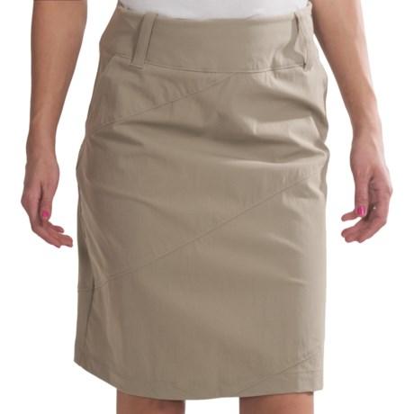 Isis Portofino Skirt - UPF 50+ (For Women) in Linen