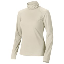 Isis Shirred Turtleneck - Long Sleeve (For Women) in Winter