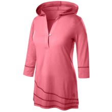 Isis Simplici-Tee Hoodie Shirt - UPF 30+, Long Sleeve (For Women) in Watermelon - Closeouts