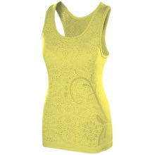 Isis Skyline Scoop Neck Tank Top (For Women) in Zest - Closeouts