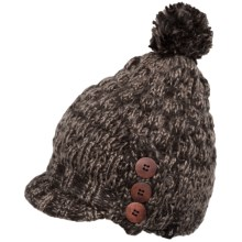 Isis Sofia Hat - Brim (For Women) in Dark Roast - Closeouts