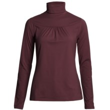 Isis Tiny Tuck Turtleneck - Stretch, Long Sleeve (For Women) in Beet - Closeouts