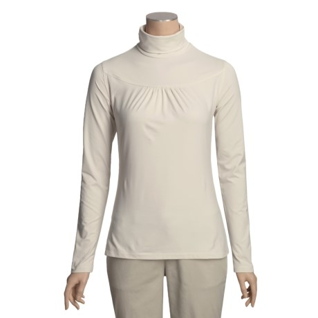 Isis Tiny Tuck Turtleneck - Stretch, Long Sleeve (For Women) in Winter