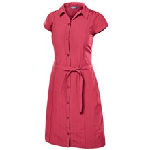 Isis Vineyard Shirt Dress - UPF 30+, Short Sleeve (For Women) in Lollipop - Closeouts