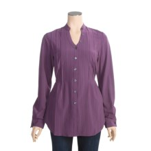 Isis Vineyard Tunic Shirt - UPF 30+, Stretch, Long Sleeve (For Women) in Plum - Closeouts