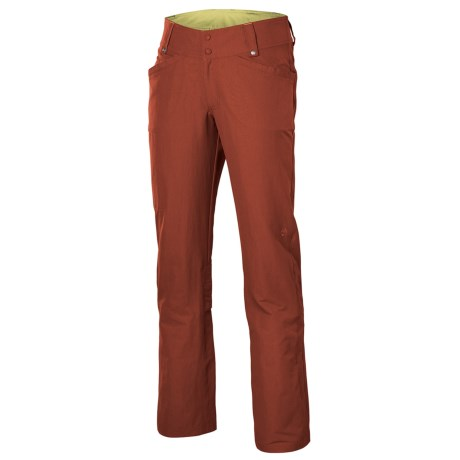 Isis Zola Convertible Pants (For Women) in Russet