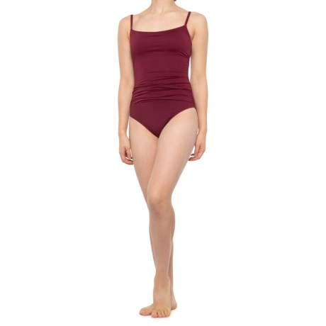 Island Goddess Lingerie One-Piece Swimsuit (For Women) - WINE (10 )