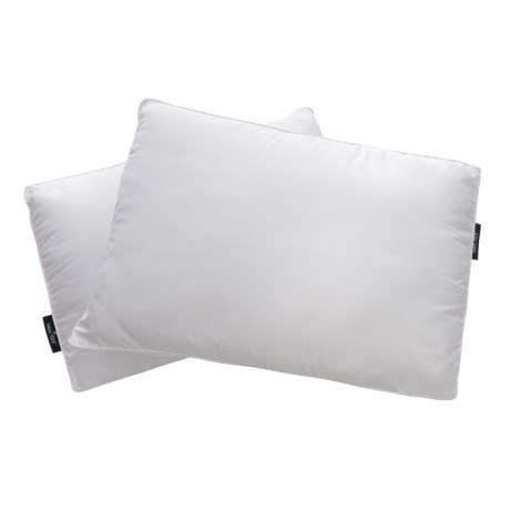Iso-Pedic Nano-Tex® Coolest Comfort Bed Pillows - Jumbo, 2-Pack in White