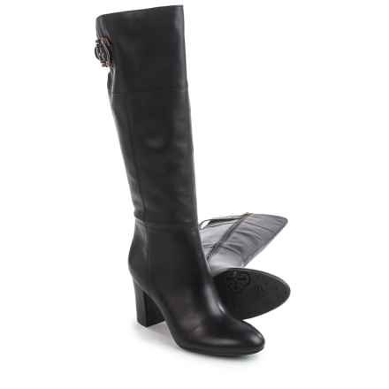 "Isola Coralie Dress Boots - Leather, 16"" (For Women) in Black - Closeouts"