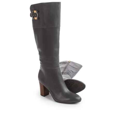"Isola Coralie Dress Boots - Leather, 16"" (For Women) in Steel Grey - Closeouts"