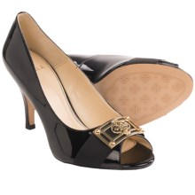Isola Dore II Pumps - Patent Leather (For Women) in Black Patent - Closeouts