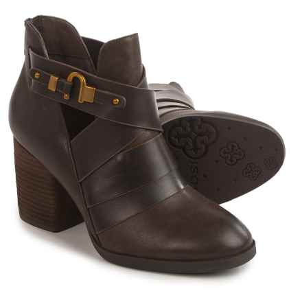 Isola Ladora Boots - Leather (For Women) in Dark Brown - Closeouts
