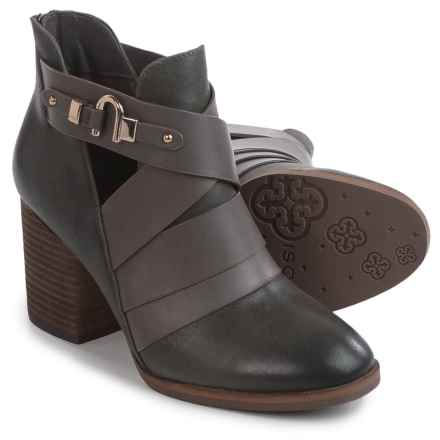 Isola Ladora Boots - Leather (For Women) in Pewter - Closeouts