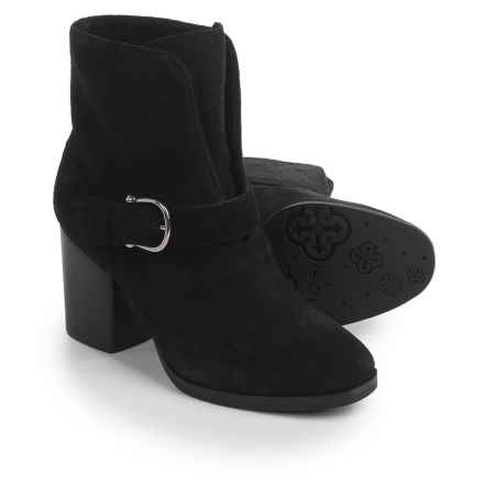 Isola Lavoy Dress Boots - Suede (For Women) in Black - Closeouts