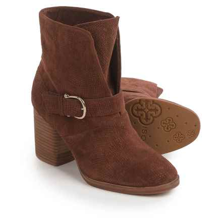 Isola Lavoy Dress Boots - Suede (For Women) in Cocoa - Closeouts