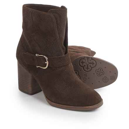 Isola Lavoy Dress Boots - Suede (For Women) in Coffee - Closeouts