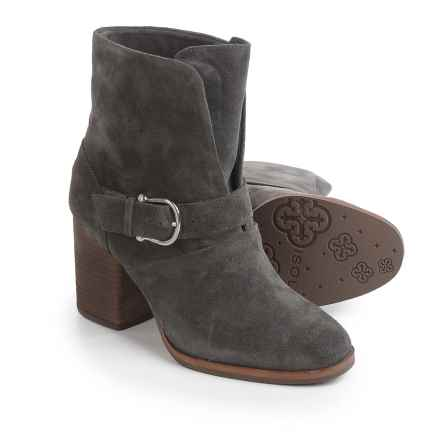 Isola Lavoy Dress Boots - Suede (For Women) in Steel Grey - Closeouts