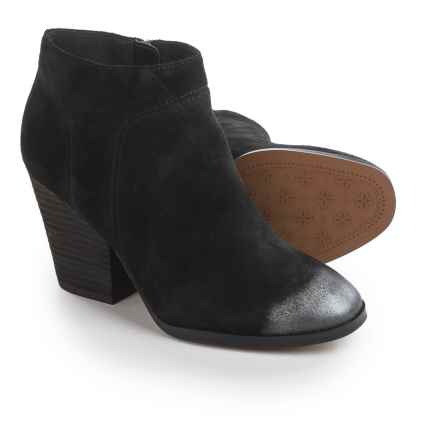 Isola Leandra Dress Boots - Suede (For Women) in Black - Closeouts