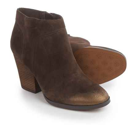 Isola Leandra Dress Boots - Suede (For Women) in Coffee - Closeouts