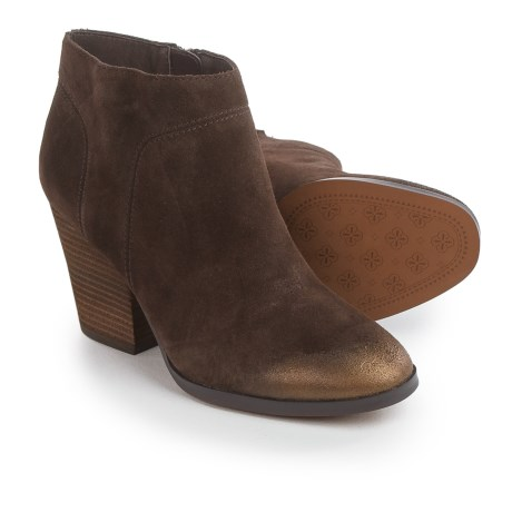 Isola Leandra Dress Boots - Suede (For Women) in Coffee