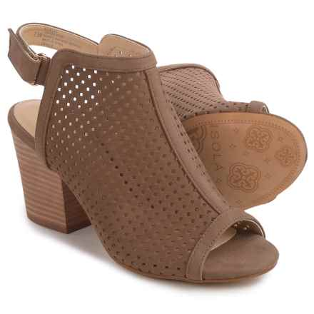 Isola Lora Bootie Sandals - Perforated Leather (For Women) in Barley - Closeouts