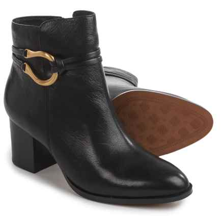 Isola Odell Dress Boots - Leather, Side Zip (For Women) in Black - Closeouts