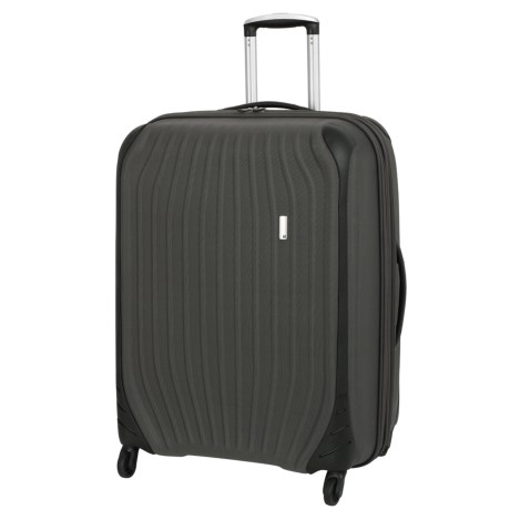 "IT Luggage 28.5"" Impact Frameless Spinner Suitcase in Dark Gull Grey"