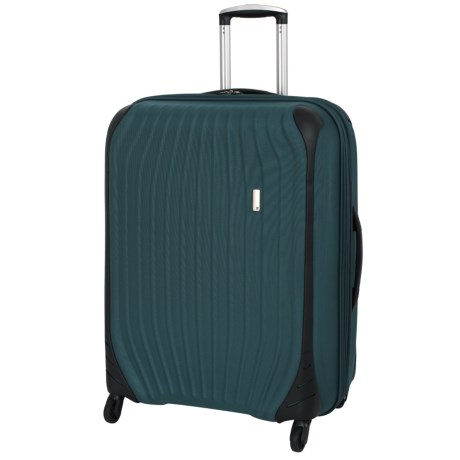 """IT Luggage 28.5"""" Impact Frameless Spinner Suitcase in Indian Teal"""