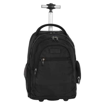 "IT Luggage B-Trail Carry-On Rolling Backpack - 20"" in Black - Closeouts"