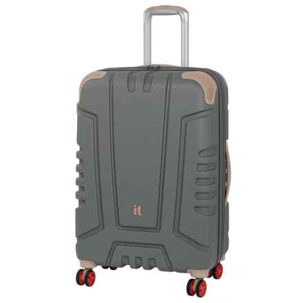 "IT Luggage Cherokee Spinner Suitcase - 28"", Hardside in Charcoal Gray - Closeouts"