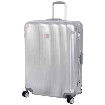 "IT Luggage Crusader Spinner Suitcase - Hardside, 30.7"" in Silver - Closeouts"